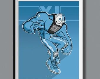 "Beasts in Sneaks - Air Jordan 11 XI ""Ultimate Gift/Pantone"" inspired art print. Sneaker Art"