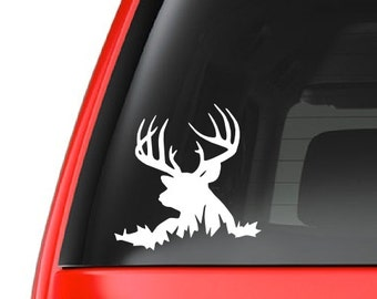 Deer (H6) Lying Down Vinyl Decal Sticker Car/Truck Laptop/Netbook Window