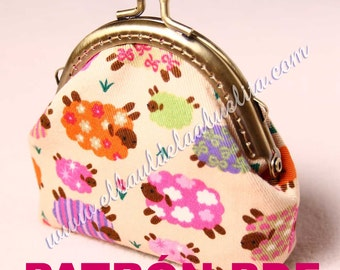 PDF pattern - purse with nozzle Claudia. Immediate download. IN SPANISH