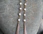 Boho Chic - fresh water pearls