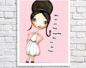 Boss Lady Quote Art Print Funny Nursery Sign Pink Office Wall Art Gift For Manager Female Boss Idea Teen Room Art Little Girls Bedroom Decor