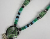Rhythm Beads - SteedBeads - Green Mandala