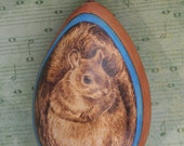 Chilly Squirrel Christmas Tree Ornament egg gourd