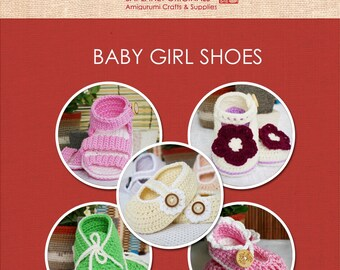Baby Booties for Girl- 5 Patterns