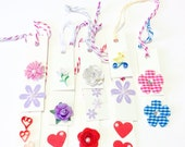 14 Mini Tags set two