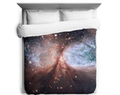 Star-Forming Region S106 Duvet Cover - Printed in USA