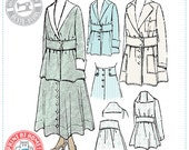 E-Pattern-  1910s Suit- Circa 1916- Wearing History PDF Vintage Historical Costume Sewing Pattern