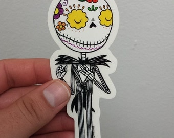 Jack Calavera Die-cut Vinyl Sticker Day of the Dead