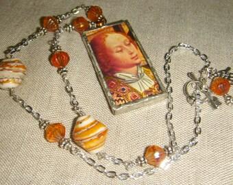 Medieval Joy Angel Necklace inv54
