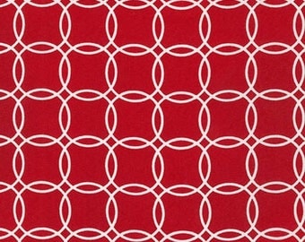 Sale fabric, 6 dollars a yard sale, Red fabric, Geometric fabric, Metro Living Bracelets - Bracelets in Red- You Choose the Cut