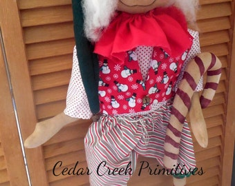 Primitive Elf Doll