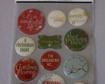 Christmas Jell Stickers