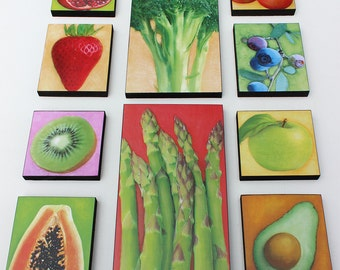 Garden Produce Kitchen Art And Decor   Fruit And Vegetable Prints Of  Paintings By Tamara Adams