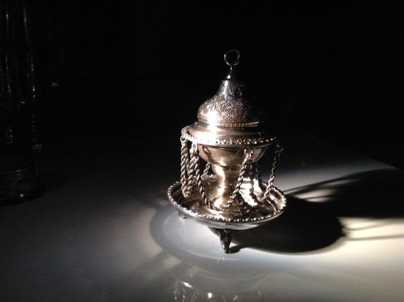 Persian Silver Incense Burner - Censer 900