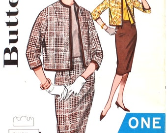 One Yard Skirt and One Yard Jacket Bust 34 Butterick 9476