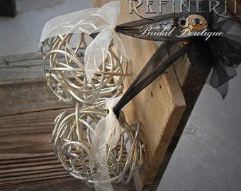 Metal Pomander: For the Alternative Wedding