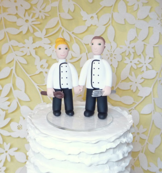 chef groom wedding cake topper chef cake toppers 12632