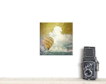 canvas wrap, canvas art, Canvas Gallery Wrap, Landscape photography, Travel decor, modern decor, hot air balloon, custom print, canvas