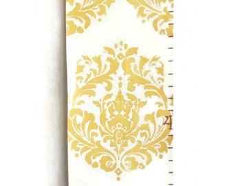 Elegant Brocade Canvas Growth Chart