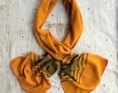 heirloom blanket scarf // handmade from an antique wool blanket