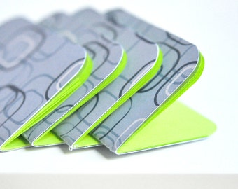 Blue Retro Mini Books {4} | Blue Mini Notebooks | Party Favours | Journals | Gift under 10 | Mothers Day | LAST SALE