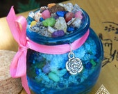 Ostara Spring Honey Heartwood Resin Pot Spring Equinox, New Beginnings and the Coming of Spring