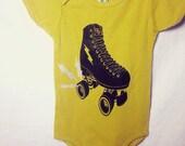 Roller Skate Infant Bodysuit perfect for Roller Derby Babies