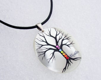"Chakra ""Tree of Life"" Necklace"