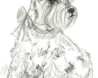 Pet Sketch - Christmas Gift for Wife