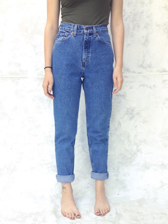 jeans tapered fit tapered leg fit levi haute taille femmes de. Black Bedroom Furniture Sets. Home Design Ideas