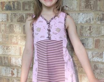 Buttercup Knit Dress PDF Sewing Pattern Sizes 1/2-16