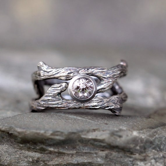Twig engagement ring pinterest