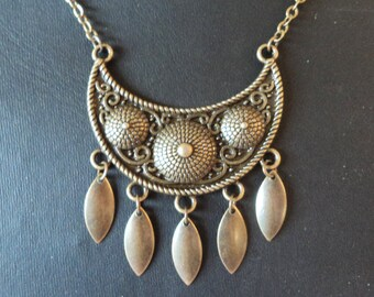 Nomade - Brass Necklace - Caravan Collection