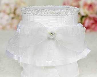 Hydrangea Bouquet Wedding Garter - 50725H