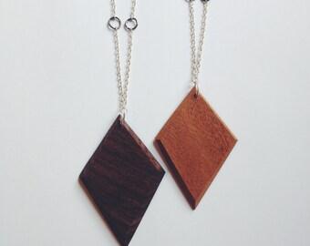 Antique Rosewood Diamond Necklaces
