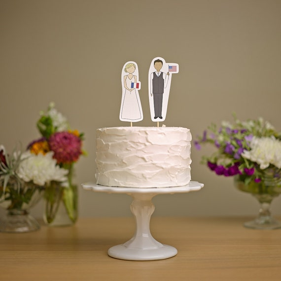 wedding cake topper checkered flag and groom with flags wedding cake topper 26307