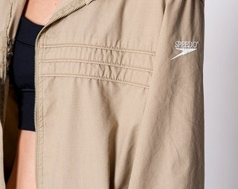 The Vintage Speedo Tan Jacket