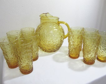 Milano Lido Ball Pitcher with set of 10 Tumblers