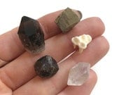 Gemstone Parcel, Wire Wrapping or Jewelry Supplies, Crystals, Minerals, Rocks, Stones, Tooth, Metaphysical, Reiki, Wicca