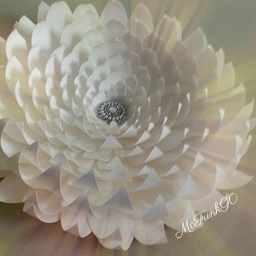 Weddings Large Paper Flower 14 Inches Color Of Your Choice