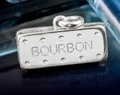 Sterling Silver Bourbon Biscuit Necklace