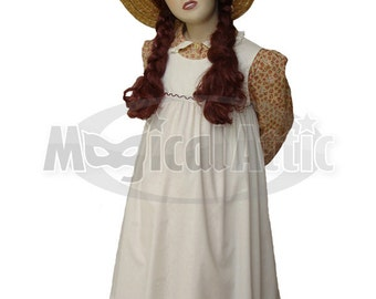 Custom Boutique Anne of Green Gables Girl Size Costume Dress Set