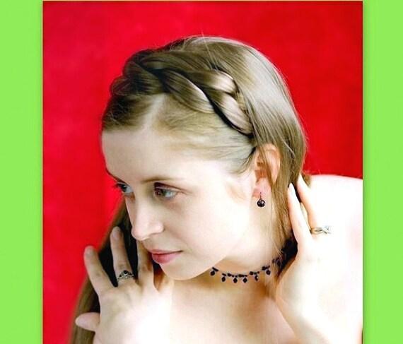 Fake Hair Plait Headband Blonde 83