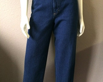 Vintage Women's 80's Cheryl Tiegs, Jeans, Blue, High Waisted, Denim (L)