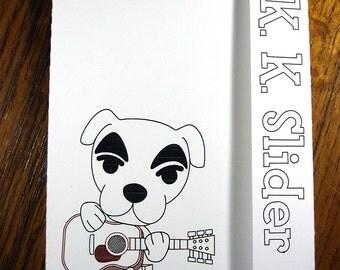 Animal Crossing, K. K. Slider - Mini Motif Notebook