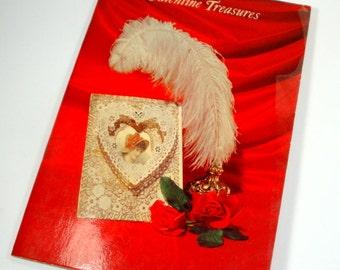 Vintage Hallmark Valentine Treasures Book of Poems, Poetry, Mid Century, 1947  (397-15)