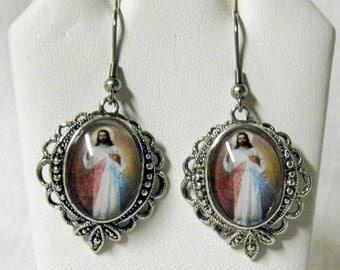 Divine Mercy earrings - AP06-515