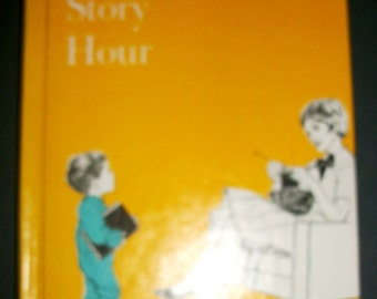 Vintage Hardcover Book The Story Hour