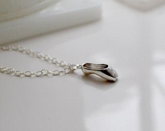 Ballet Shoe necklace  ballet pointe shoe necklace, Ballet shoe charm , ballet shoe necklace, pointe shoe pendant, ballet slipper necklace
