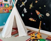 Outer Space - Peel and Stick Wall Sticker